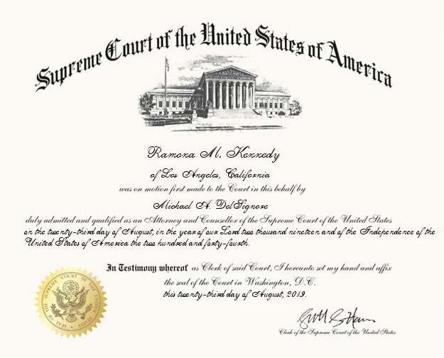 Ramona-Kennedy-US-Supreme-Court-certifciate
