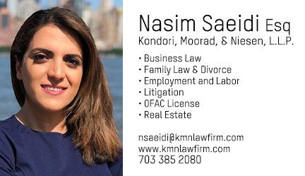 Nasim Saeidi |  نسیم سعیدی