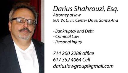Darius Shahrouzi  Darius Shahrouzi